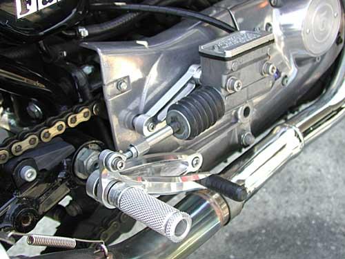 Sato Racing Rear Sets Harley Davidson Sportster 883