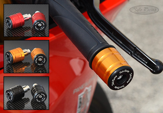Sato Racing 35mm full size slider-style Handle Bar Ends for hollow bars