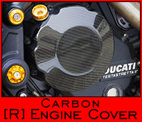 Carbon Engine Cover - Right Side