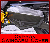 Carbon Swingarm Cover