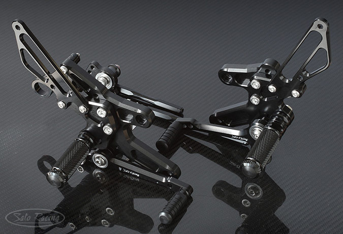 SATO RACING CB1000R ('18-) Rear Sets in Black