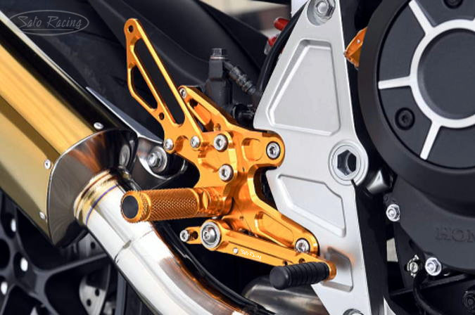 SATO RACING CB1000R ('18-) Rear Sets [R]-side