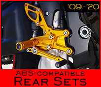 ABS Rear Sets
