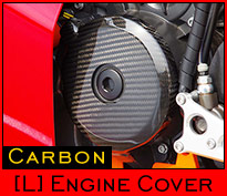 Carbon Engine Cover - L-side