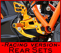 Rear Sets - Racing version