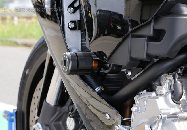 Sato Racing 2015 Yamaha YZF-R1 Frame Sliders