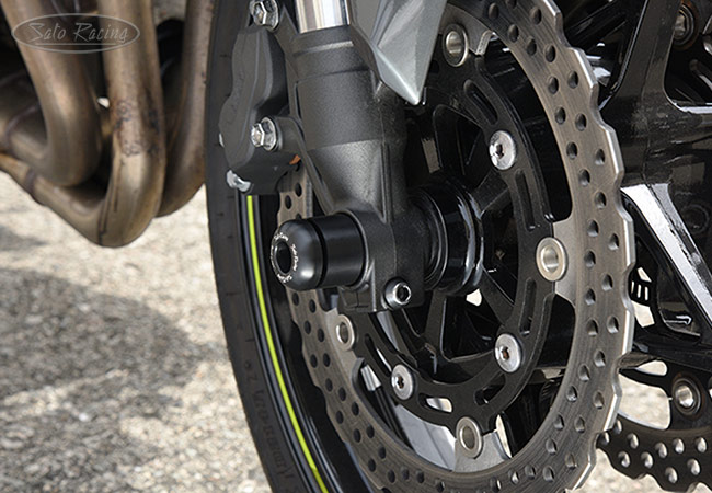 SATO RACING Kawasaki Z900 Z900RS Front Axle Sliders