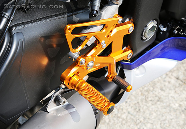 SATO RACING Yamaha YZF-R6 '17-'20 Race Concept Rear Sets [R]-side
