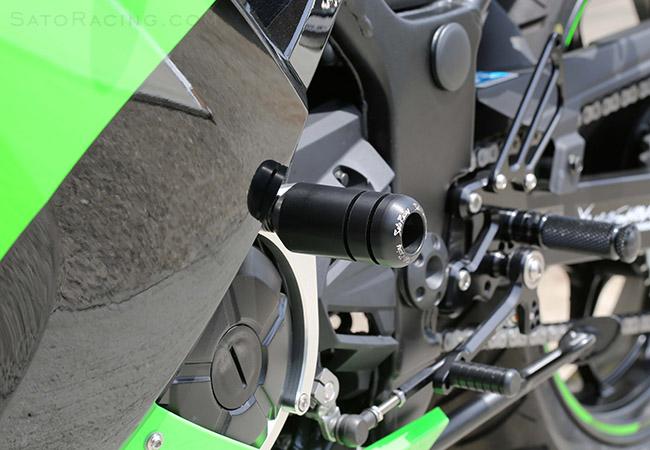 Sato Racing Engine Sliders Kawasaki Ninja 300 13