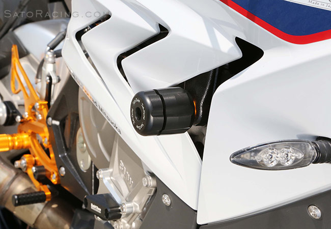 SATO RACING Frame Sliders for 2015-18 BMW S1000RR - R-side