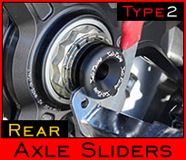 type2 Rear Axle Sliders