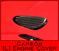 Carbon Engine Cover - Left Side