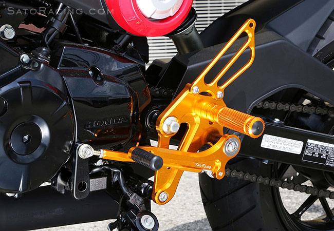 Sato Racing Rear Sets Honda Grom Msx125 13 15
