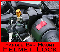 Helmet Lock - Handle Bar mount