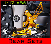 ABS-compatible Rear Sets