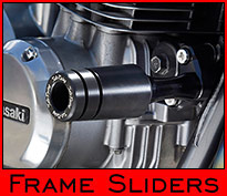 Zephyr 750 Frame Sliders