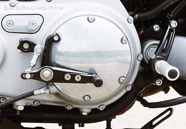 SATO RACING | Harley-Davidson XR1200 ('09- ) Shift Pedal Assembly