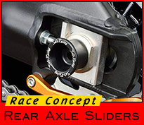 Race Concept Rear Axle Sliders
