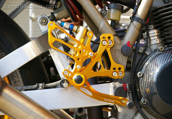 SATO RACING Ducati MH900e/ SS900 Type 2 Rear Sets [R]-side